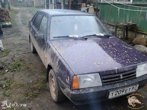 машина в грязи