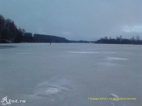река десна зимой