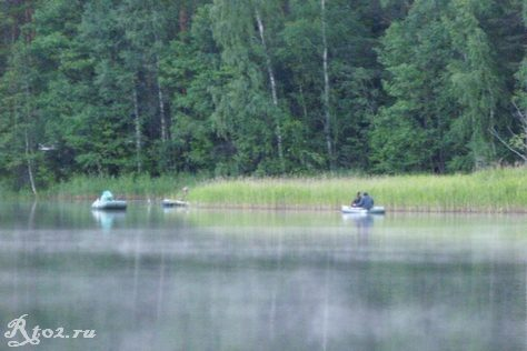 Соревнования на озере Рытое