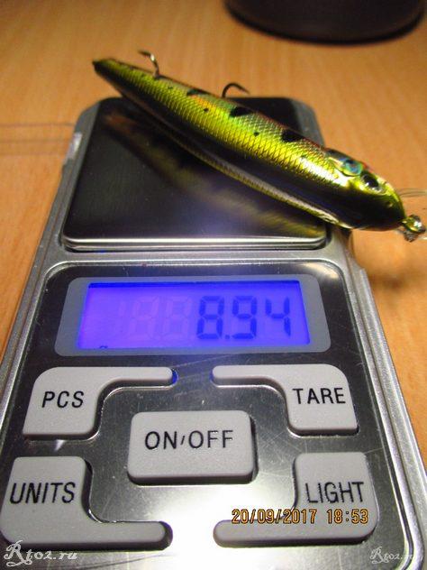 Вес воблера Bass Clicker