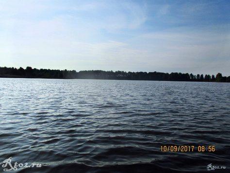Десногорское водохранилище, подкова