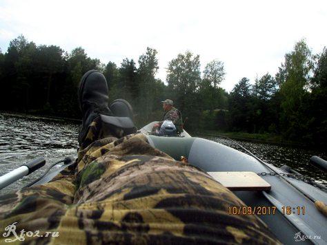 Буксировка лодки
