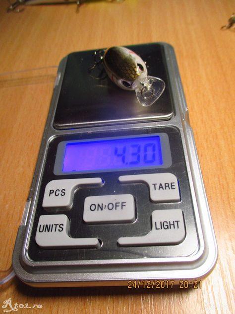 Вес светлого чабика