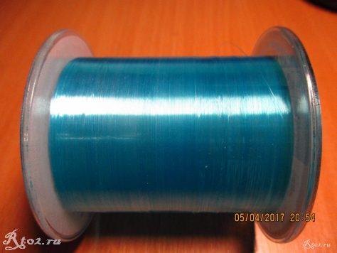 леска голубого цвета