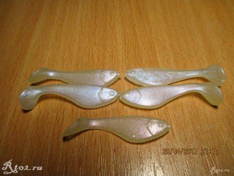 маленькие виброхвосты из китая