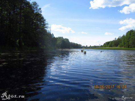 Верховье озера
