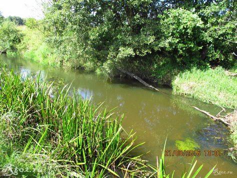 замытая ямка на малой реке