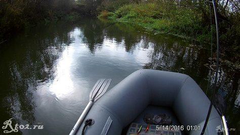 тихое место на реке