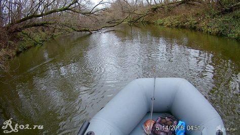 мелкие места на реке