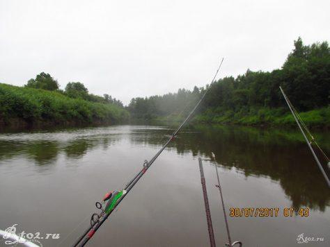 Река Днепр, Спиннинги