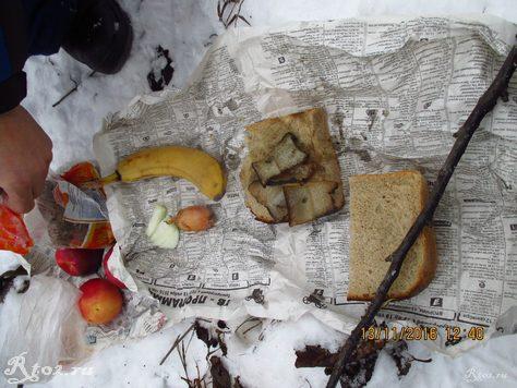 обедаем на берегу