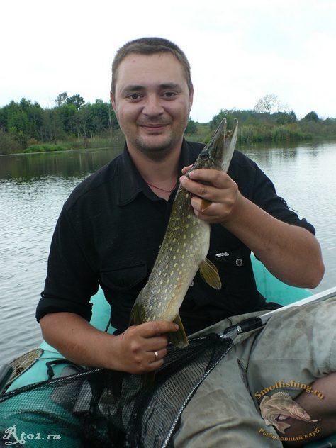 Щука на новом озере