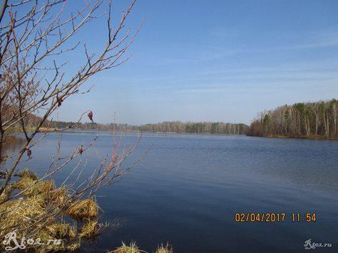 Десногорское водохранилище. Слияние десны и стряны