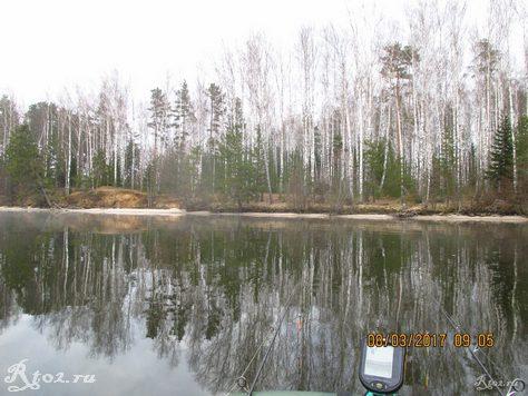 Десногорское водохранилище в районе Кукуевки 2