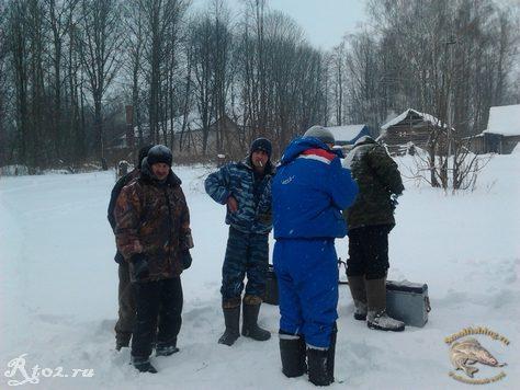 Соревнования по рыбной ловли между сельских поселений 1