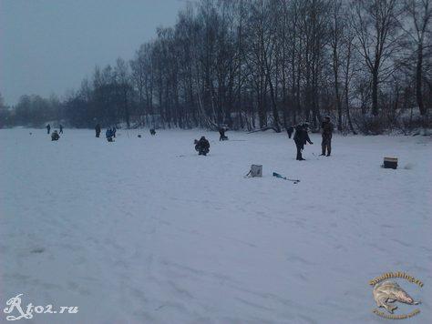 Соревнования по рыбной ловли между сельских поселений  13
