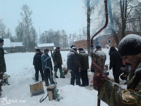 Соревнования по рыбной ловли между сельских поселений 15
