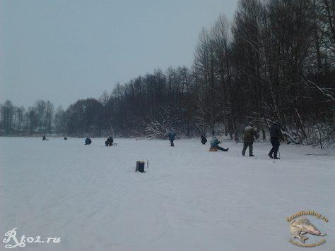 Соревнования по рыбной ловли между сельских поселений 6