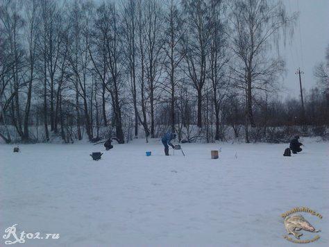 Соревнования по рыбной ловли между сельских поселений 9