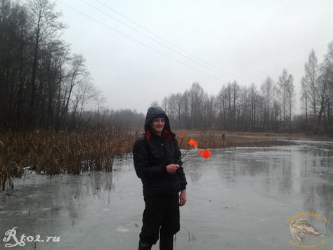 Никита на первом льду