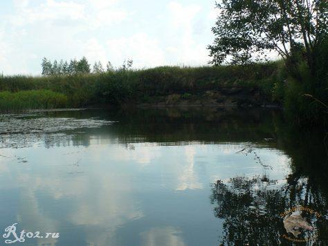 Омут на реке