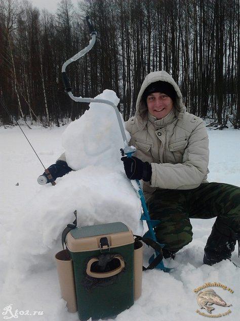 Никита и снеговик