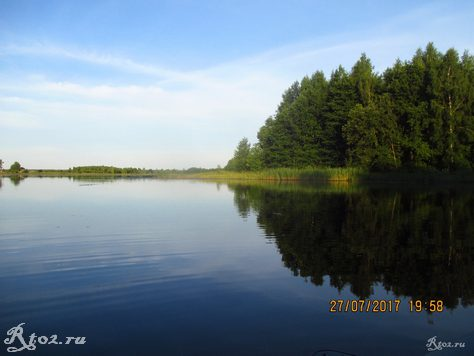 Озеро около Ельни