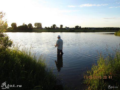 я на озере 1