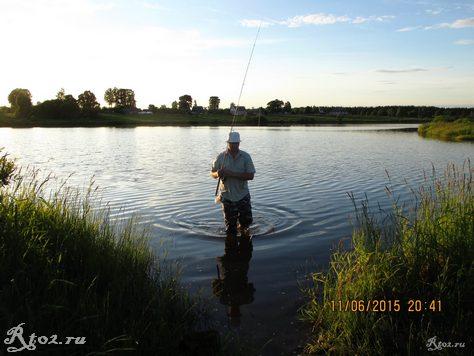 я на озере 2