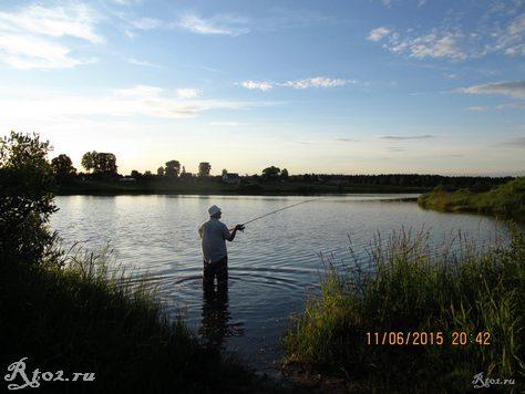 я на озере 4