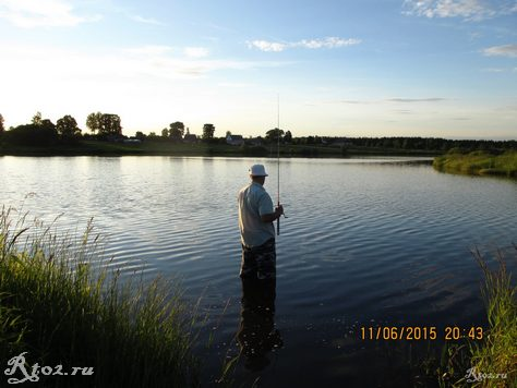 я на озере 6