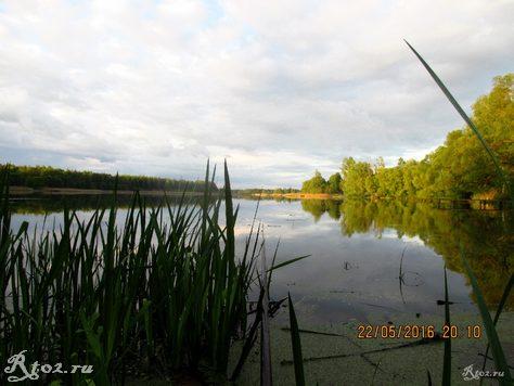 Озеро в деревне Климщина 2