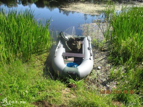 Лодка велес 255