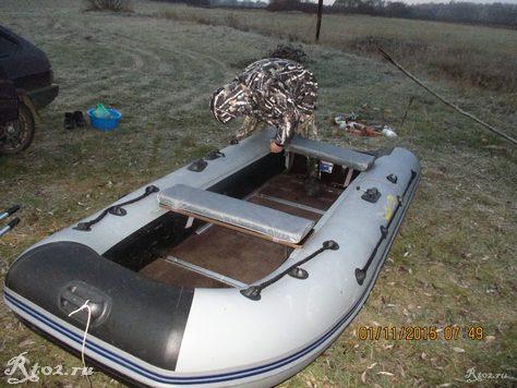 вова собирает лодку