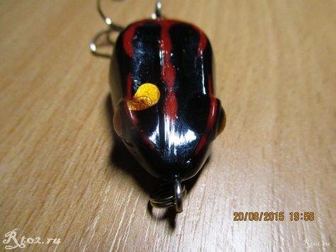 лягушка из китая с тройником 2