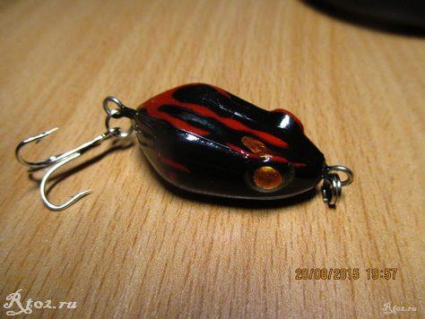 лягушка из китая с тройником 5