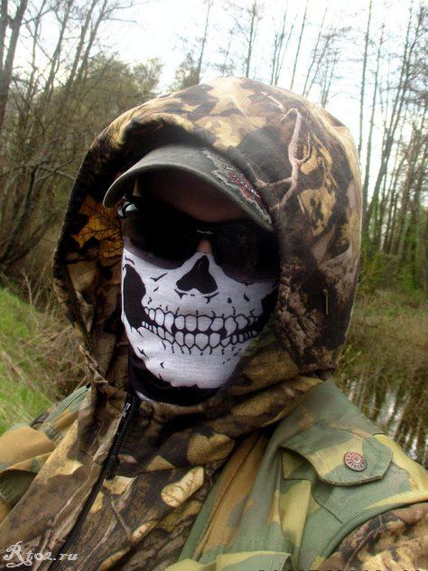 Я в маске на речке