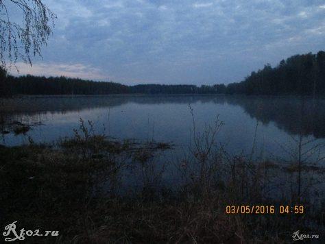 утро на реке Стряна 2