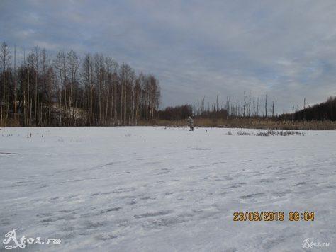 озеро весной 1