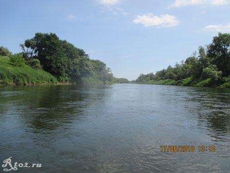 река Днепр 345345