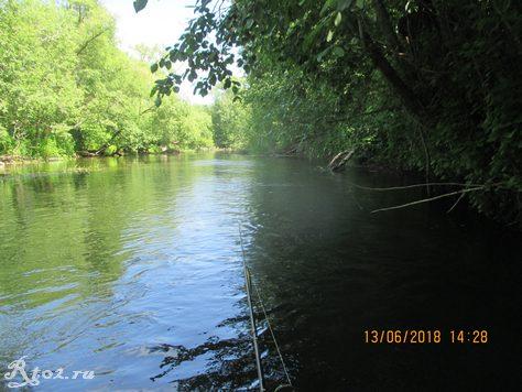 небольшая река 436