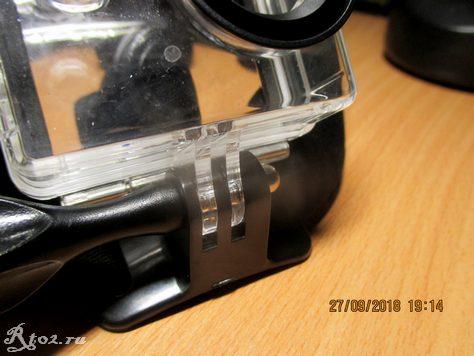 Крепление для экшен камер на голову 16