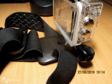 Крепление для экшен камер на голову 17