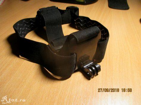 Крепление для экшен камер на голову 2