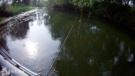 сплав по небольшой реке 2