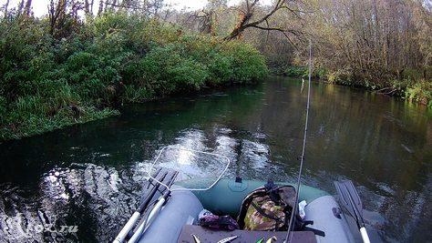 река в октябре 1