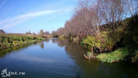 река в октябре 9