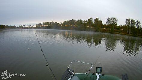 Утро на водохранилище 23