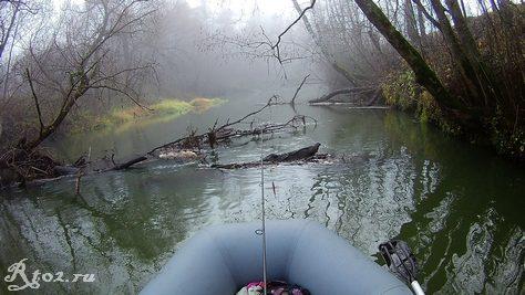 завалы на малой реке