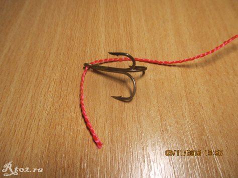 вымеряем длину нитки